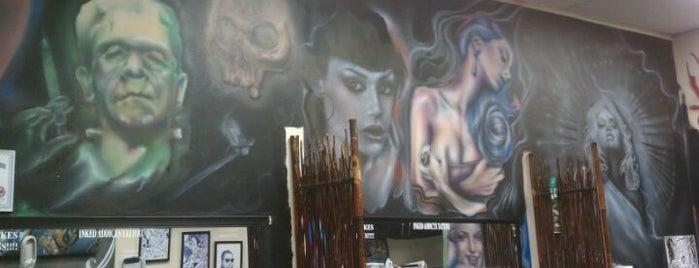 Inked Addicts is one of สถานที่ที่ Ken ถูกใจ.