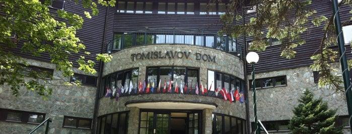 Tomislavov dom is one of Ozan'ın Beğendiği Mekanlar.