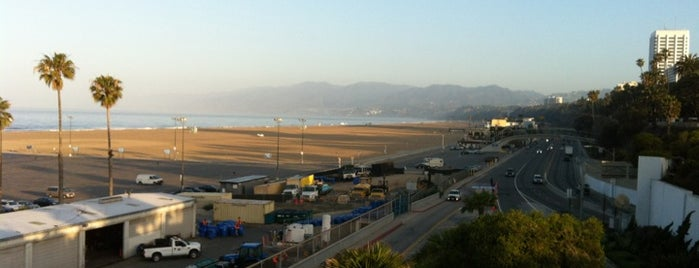 Santa Monica State Beach is one of California Favorites.