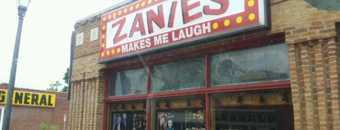 Zanies Comedy Club is one of Nashville.