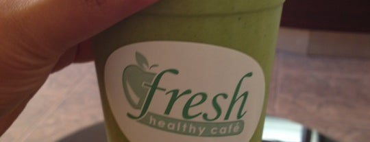 Fresh healthy cafe is one of Would visit.