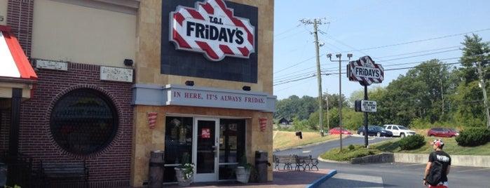 TGI Fridays is one of Lieux qui ont plu à Jason.