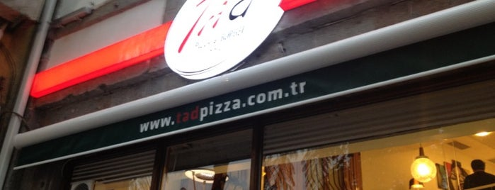 Tad Pizza & Burger is one of Trabzon <3.