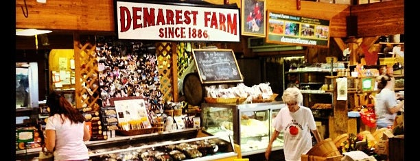 Demarest Farm is one of Picking Vegs and fruit - summer and fall.