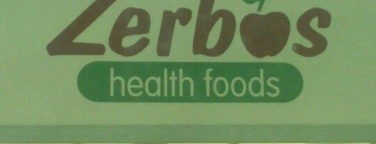 Zerbo's Health Foods is one of Locais curtidos por Carrie.