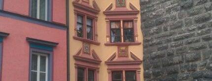 Hübscher Winkel is one of Historische Innenstadt Rottweil.