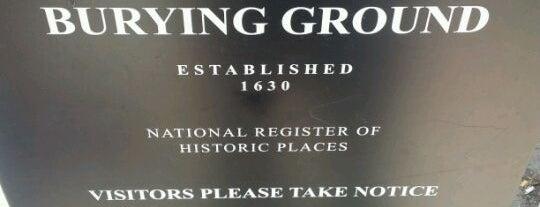 King's Chapel Burying Ground is one of Boston.