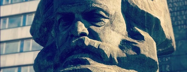 Karl Marx Monument is one of The Ore Mountains.