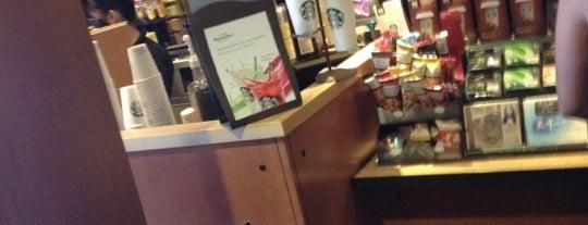 Starbucks is one of Banff, Alberta, Canada.