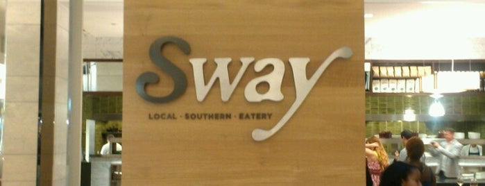 Sway is one of Places to try: food.