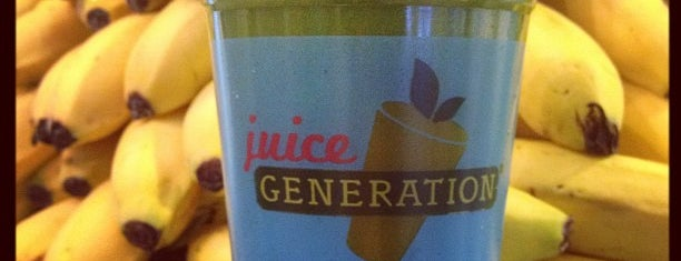 Juice Generation is one of Vegan.