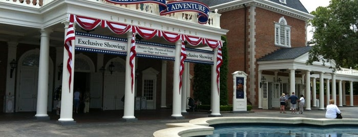 The American Adventure is one of Epcot.