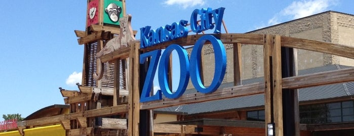 Kansas City Zoo is one of Kansas City Weekend.