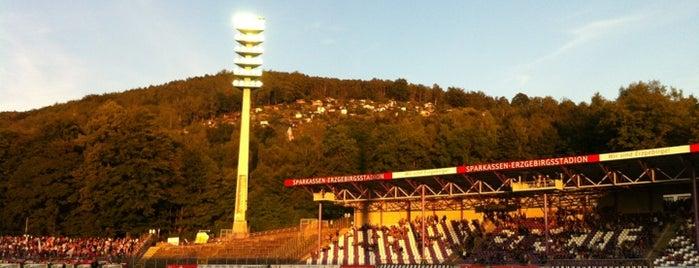 Erzgebirgsstadion is one of Part 1~International Sporting Venues....