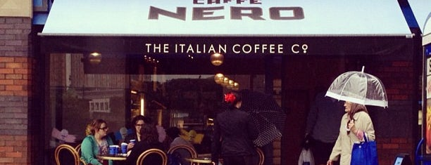 Caffè Nero is one of Never been.