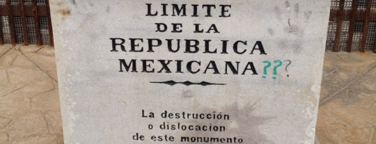 Límite de la República Mexicana. is one of Orte, die Sal gefallen.