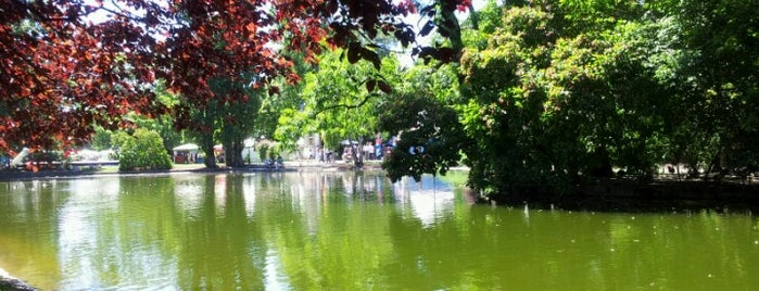 Stadtpark is one of Best sport places in Vienna.