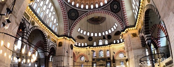 Süleymaniye-Moschee is one of Istanbul Tourist Attractions by GB.