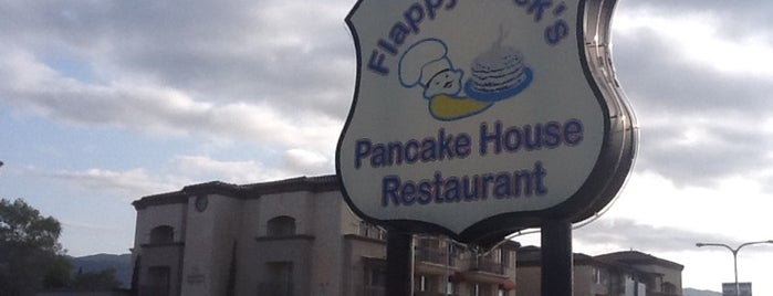 Flappy Jacks Pancake House is one of It's the most important Meal of the day.