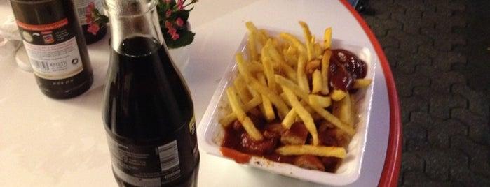 Die Bratwurst is one of Posti che sono piaciuti a Martina.