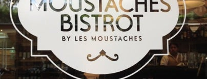 Moustaches Bistrot is one of Tempat yang Disukai Sergio M. 🇲🇽🇧🇷🇱🇷.