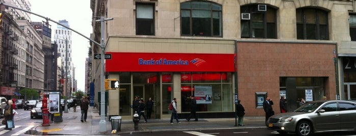 Bank of America is one of NYC TriBeCa.