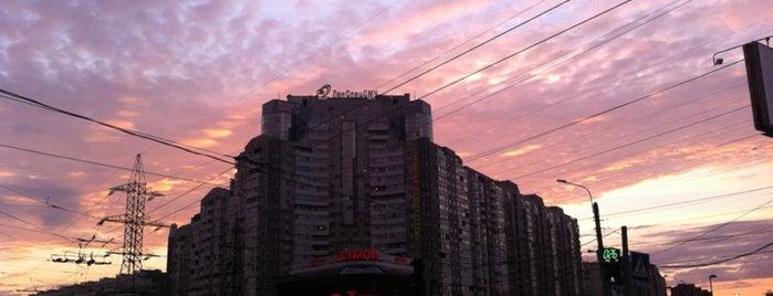Остановка «Ст. м. Пионерская» is one of Locais curtidos por Татьяна.