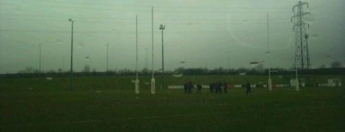 Luton Rugby Club is one of Lugares favoritos de Carl.