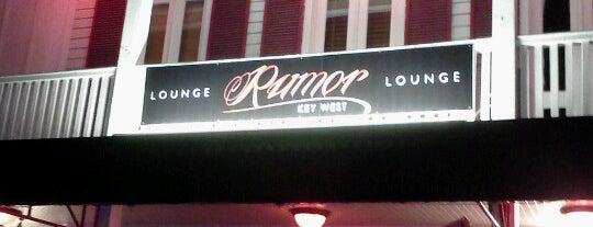 Rumor Lounge is one of KEY WEST.