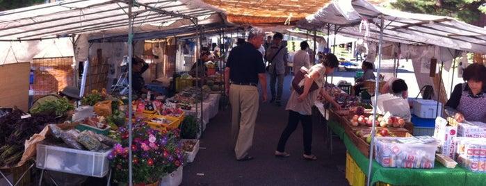 Jinya-mae Morning Market is one of Lieux sauvegardés par tessei.