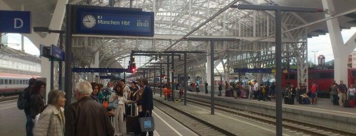 Salzburg Hauptbahnhof is one of Follow the Orient Express — Şark Ekspresi.