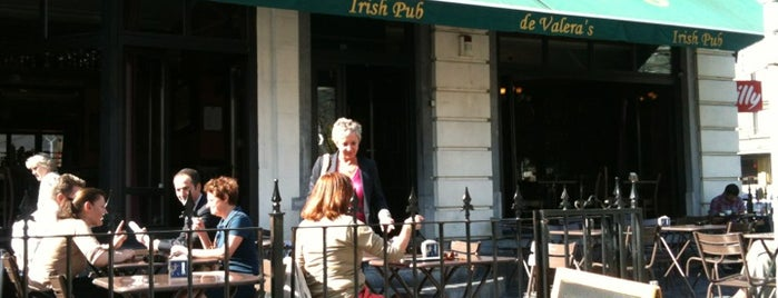De Valera's Irish Pub is one of Brussels's best spots.