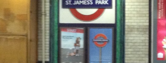St. James's Park London Underground Station is one of Underground Stations in London.