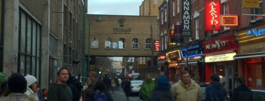 Brick Lane is one of Cool things to do in London.