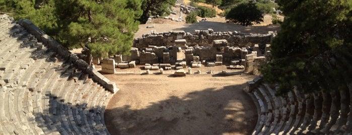 Arykanda Antik Kenti is one of Historical Places in Antalya - Ören Yerleri.