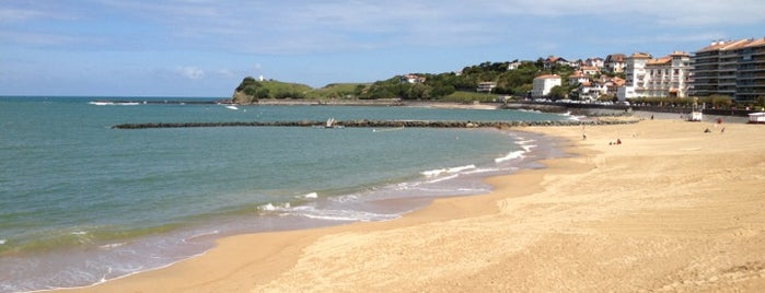 Playa de San Juan de Luz is one of Lugares favoritos de Kevin.