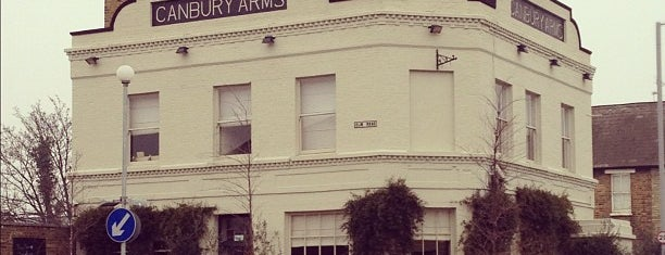 The Canbury Arms is one of London.