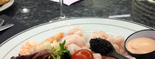Caviar House & Prunier is one of Lugares favoritos de jordi.