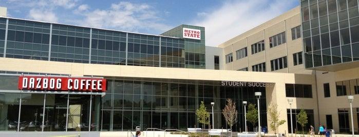 MSU Denver - Student Success Building is one of สถานที่ที่ Rayna ถูกใจ.