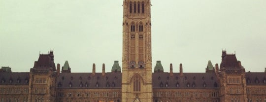 Parliament Hill is one of Ottawa Points of Interest.