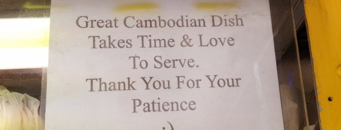 Cambodian Cuisine Torsu is one of New York.