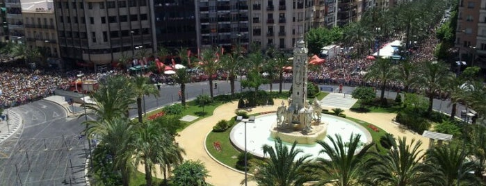 Plaza de Los Luceros is one of Alicante.