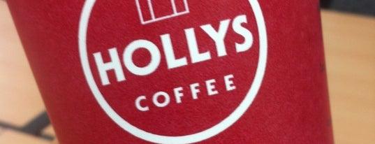 HOLLYS COFFEE ACADEMY is one of HOLLYS COFFEE (할리스).