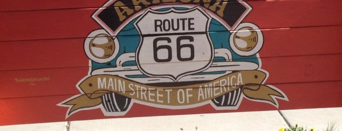Historic Route 66 is one of Historic Route 66.