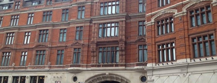 Andaz London Liverpool Street - a concept by Hyatt is one of Gespeicherte Orte von Dmitry.