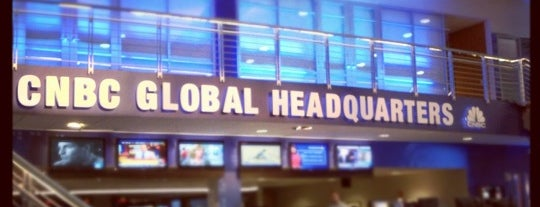 CNBC Headquarters is one of Places Penina Mezei visited last year.