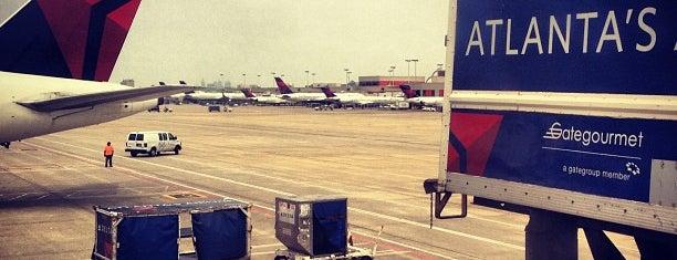 Hartsfield-Jackson Atlanta International Airport (ATL) is one of AIRPORT.