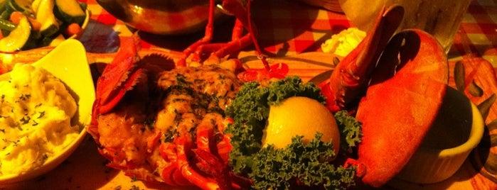 Lobster Pot Restaurant is one of RESTAURANTS II.