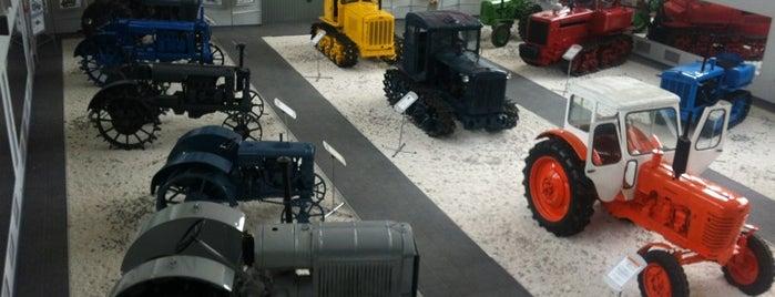 Музей истории трактора is one of Kazan.