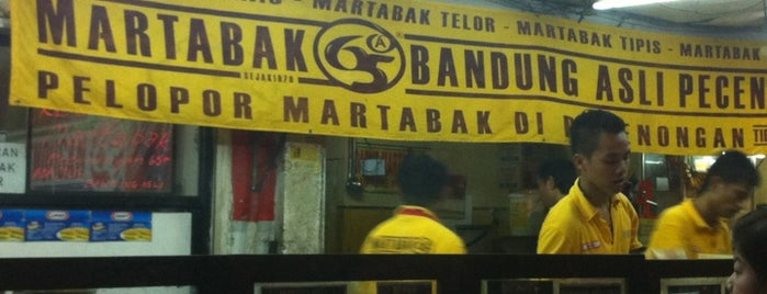 Martabak 65A Bandung Asli Pecenongan is one of Must visit.
